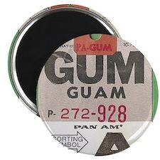 Guam Luggage Tag Magnet