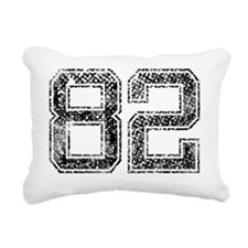 82, Vintage Rectangular Canvas Pillow