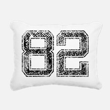 82, Vintage Rectangular Canvas Pillow