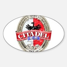 Citadel Oval Decal