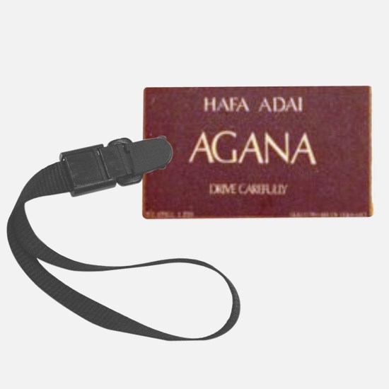 Old Agana Sign Luggage Tag