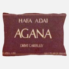 Old Agana Sign Pillow Case