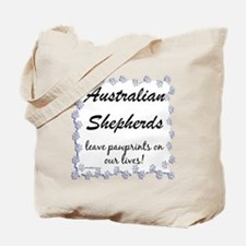 Aussie Pawprints Tote Bag