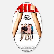 MILF Poster Sticker (Oval)