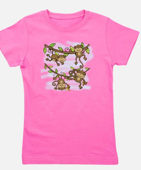 Monkey Shine Girl's Tee