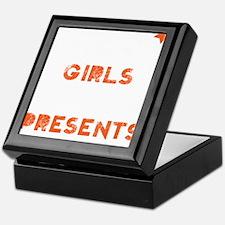 Naughty girls Keepsake Box