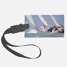 Sailing to Bermuda Framed Print Luggage Tag
