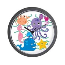 Undersea Adventure Wall Clock