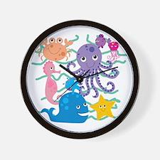 Undersea Adventure Wall Clock