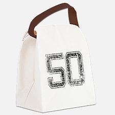 50, Vintage Canvas Lunch Bag