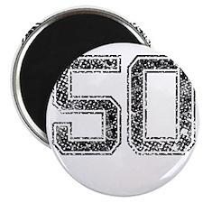 50, Vintage Magnet