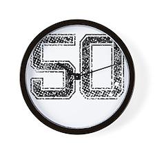 50, Vintage Wall Clock