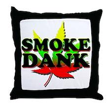 SMOKE DANK Throw Pillow