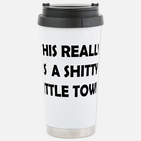 Little town Stainless Steel Travel Mug