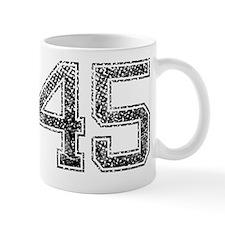 45, Vintage Small Mug