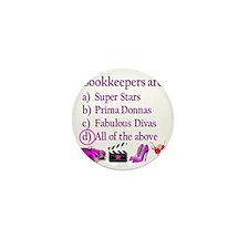 bookkeeper Mini Button