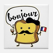 French Toast Tile Coaster