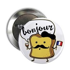"""French Toast 2.25"""" Button"""