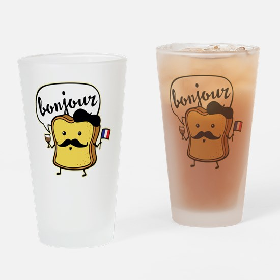 French Toast Drinking Glass