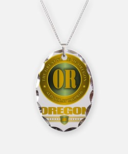 Oregon Gold Label Necklace
