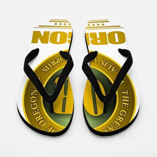 Oregon Gold Label Flip Flops