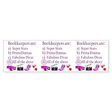 bookkeepera Bumper Sticker