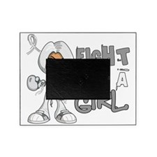 D Lung Cancer FLAG 42.8 Picture Frame