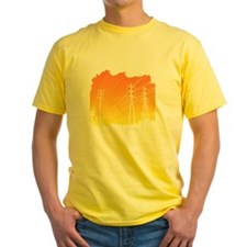 All Over Powerlines design T