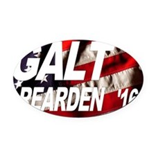 Galt Rearden 2016 Oval Car Magnet