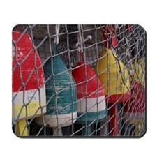 Netted Lobster Buoys Mousepad