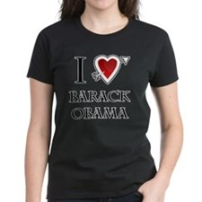 i love Barack Obama heart Tee