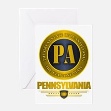 Pennsylvania Gold Label Greeting Card