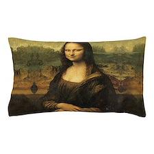 Mona Lisa Pillow Case