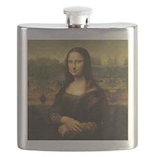 Mona Lisa Flask