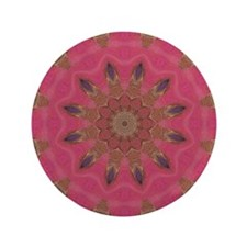 "Affection Art Mandala 3.5"" Button"