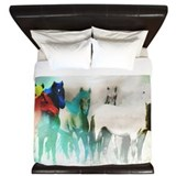 Horses King Duvet Covers