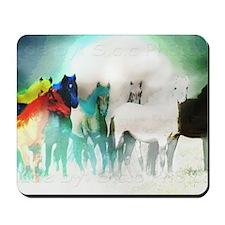 7 Seven Horses Mousepad