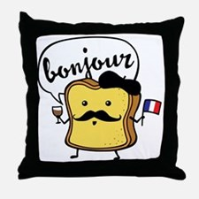 French Toast Throw Pillow