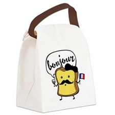 French Toast Canvas Lunch Bag