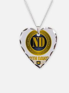 North Dakota Gold Label Necklace