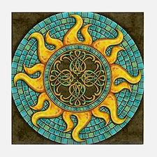 Mosaic Sun Tile Coaster