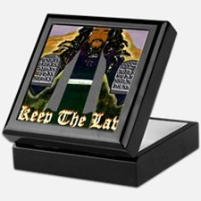 Keep the Law...Moses Keepsake Box