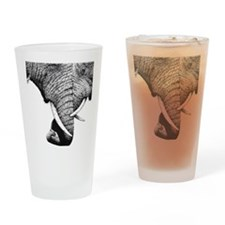 Kind Duvet African Elephants Drinking Glass