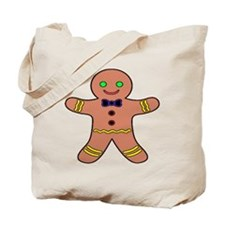 Gingerbread Man Tote Bag