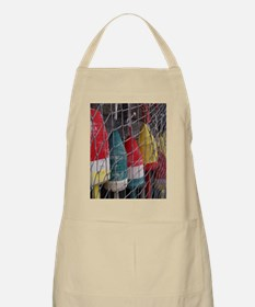 Netted Lobster Buoys Apron