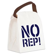 No Rep Canvas Lunch Bag