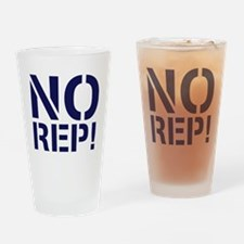 No Rep Drinking Glass