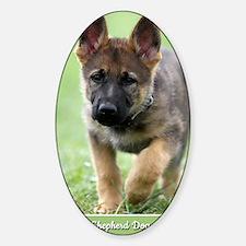 German Shepherd dog puppy Decal