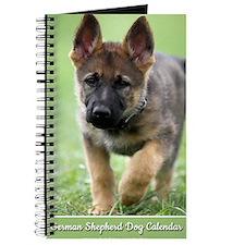 German Shepherd dog puppy Journal