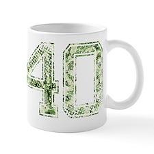 40, Vintage Camo Mug